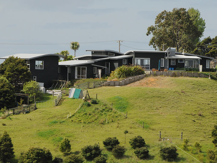 Our house at Mahurangi West
