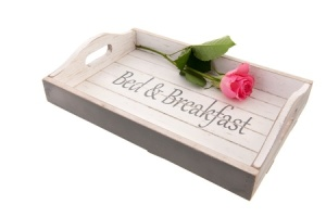bed and breakfast tray
